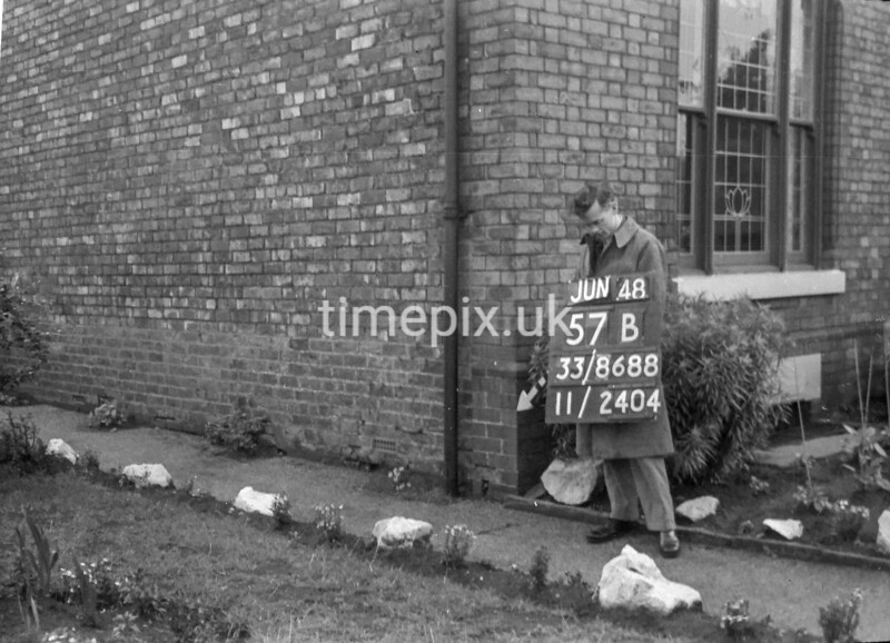 SJ868857B, Ordnance Survey Revision Point photograph in Greater Manchester