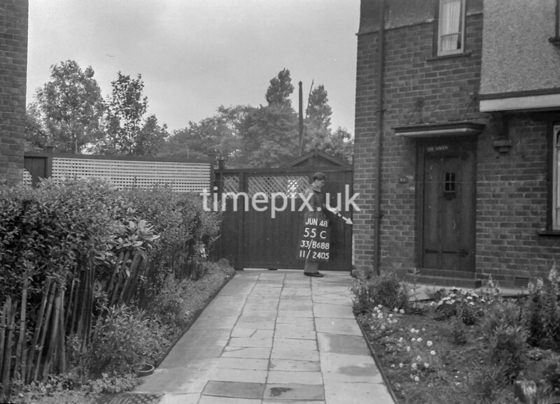 SJ868855C, Ordnance Survey Revision Point photograph in Greater Manchester