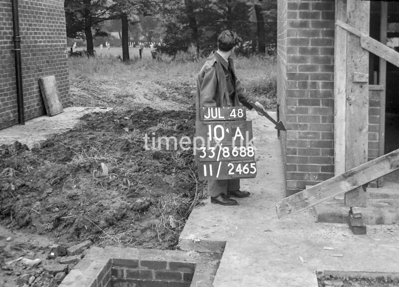 SJ868810A1, Ordnance Survey Revision Point photograph in Greater Manchester