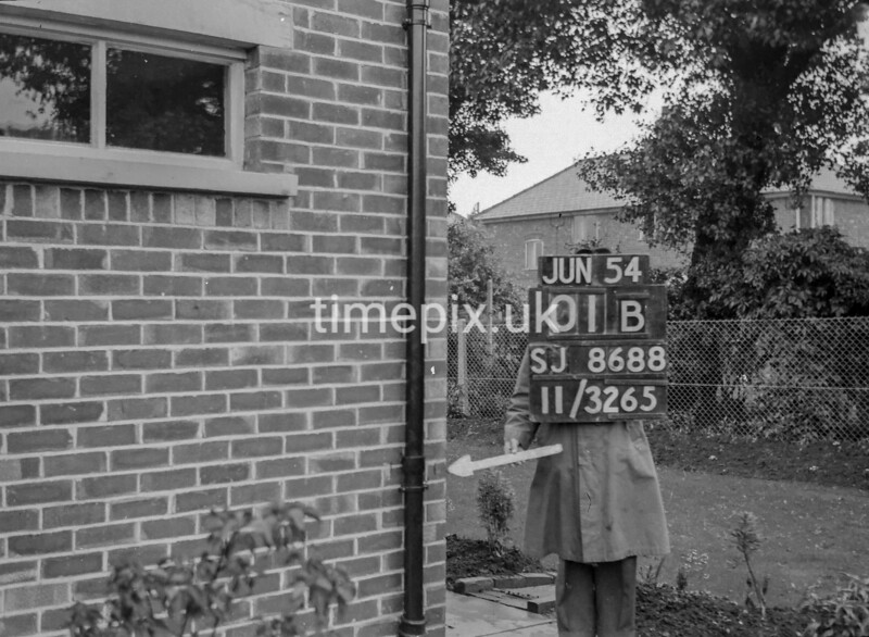 SJ868801B, Ordnance Survey Revision Point photograph in Greater Manchester