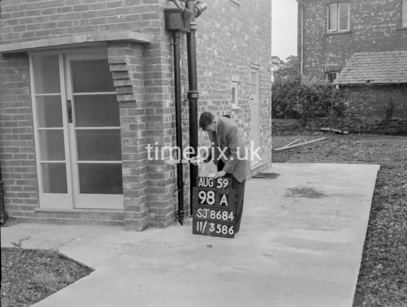 SJ868498A, Ordnance Survey Revision Point photograph in Greater Manchester