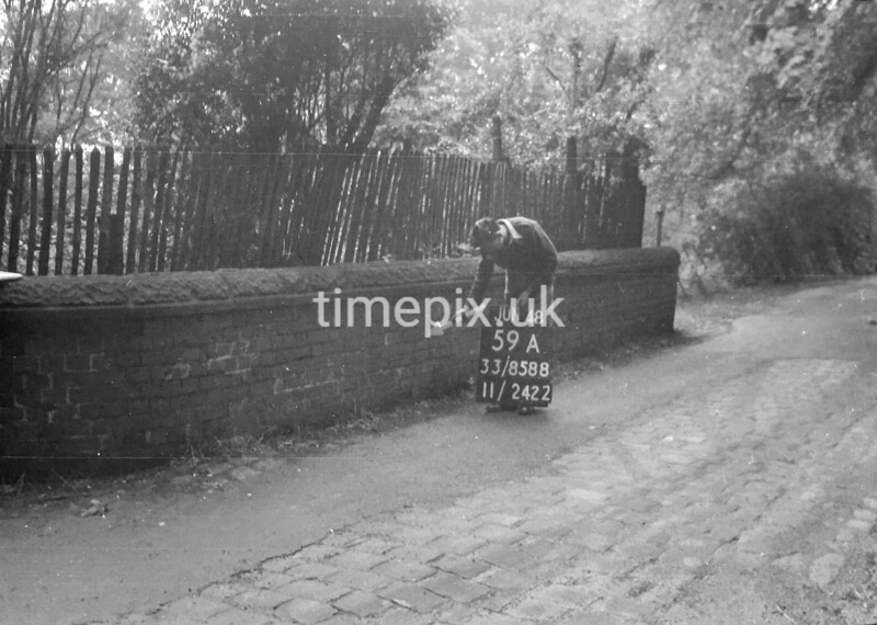 SJ858859A, Ordnance Survey Revision Point photograph in Greater Manchester