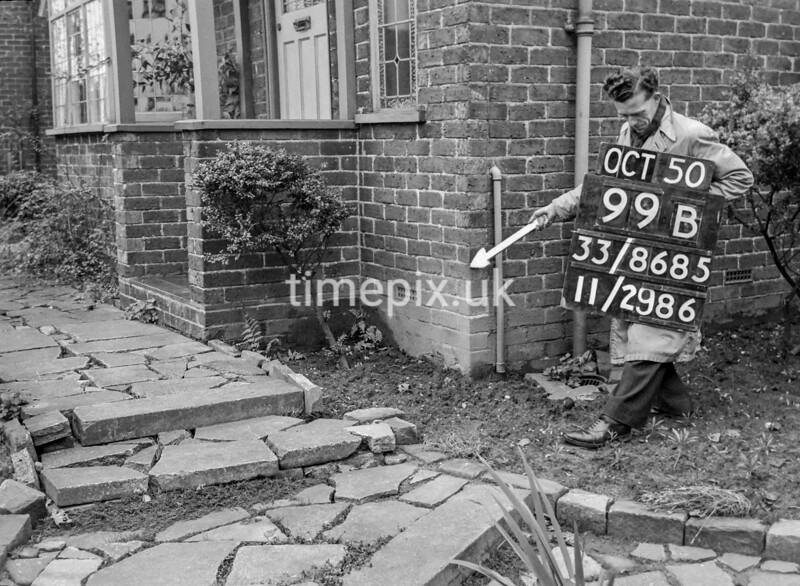 SJ868599B, Ordnance Survey Revision Point photograph in Greater Manchester