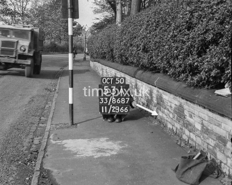 SJ868753A, Ordnance Survey Revision Point photograph in Greater Manchester