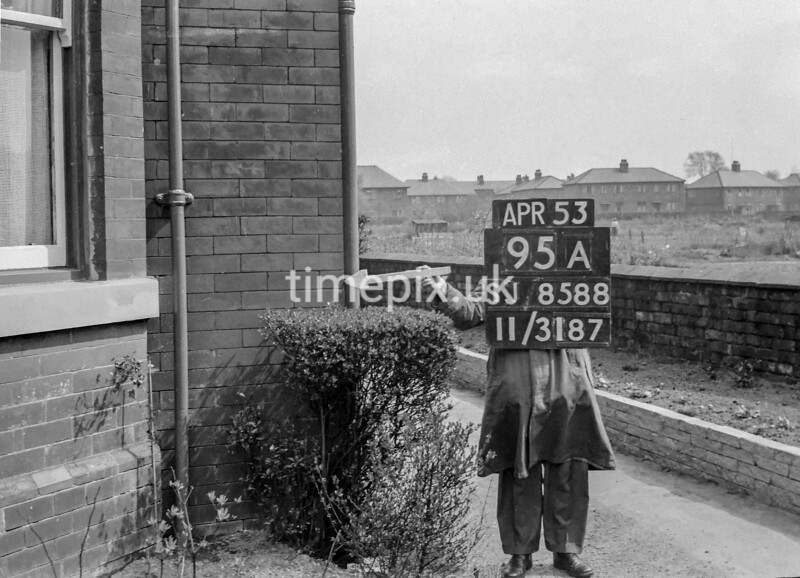 SJ858895A, Ordnance Survey Revision Point photograph in Greater Manchester
