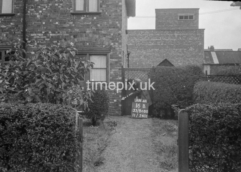 SJ868816B, Ordnance Survey Revision Point photograph in Greater Manchester