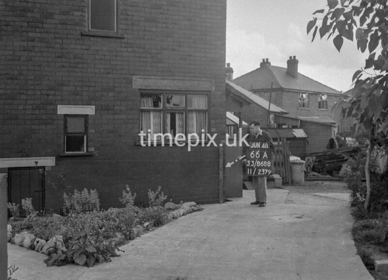 SJ868866A, Ordnance Survey Revision Point photograph in Greater Manchester