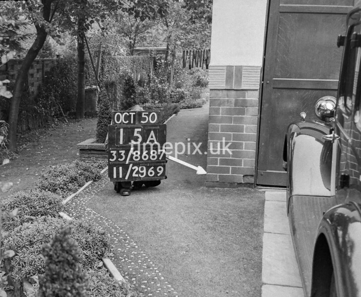 SJ868715A, Ordnance Survey Revision Point photograph in Greater Manchester
