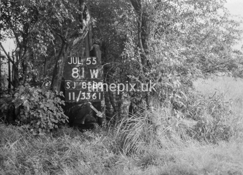 SJ858881W, Ordnance Survey Revision Point photograph in Greater Manchester