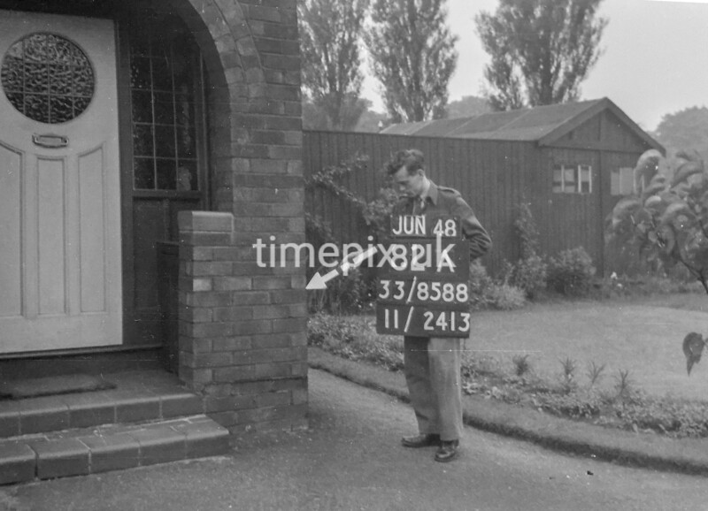 SJ858882A, Ordnance Survey Revision Point photograph in Greater Manchester