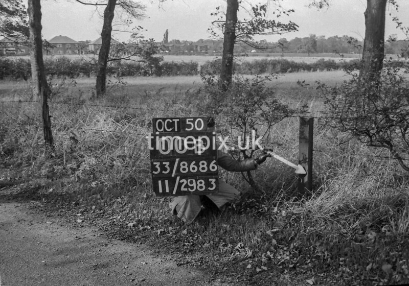 SJ868600B, Ordnance Survey Revision Point photograph in Greater Manchester