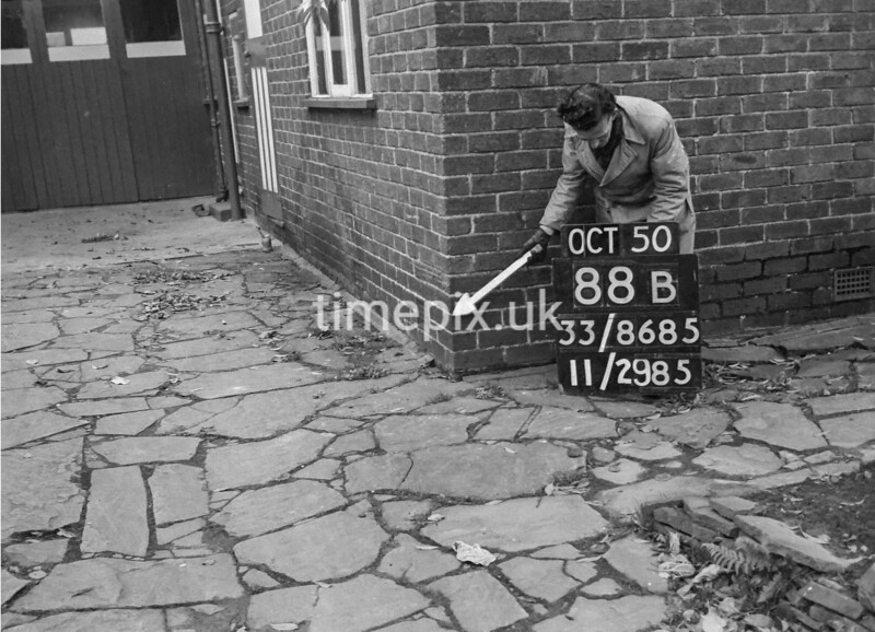 SJ868588B, Ordnance Survey Revision Point photograph in Greater Manchester