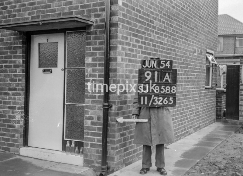 SJ858891A, Ordnance Survey Revision Point photograph in Greater Manchester