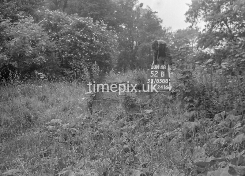 SJ858852B, Ordnance Survey Revision Point photograph in Greater Manchester