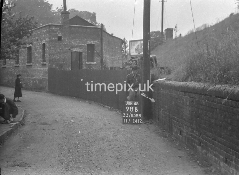 SJ858898B, Ordnance Survey Revision Point photograph in Greater Manchester