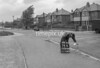 SJ868874B, Ordnance Survey Revision Point photograph in Greater Manchester