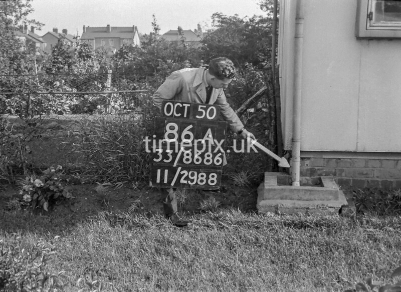 SJ868686A, Ordnance Survey Revision Point photograph in Greater Manchester