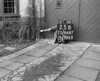 SJ868725B, Ordnance Survey Revision Point photograph in Greater Manchester
