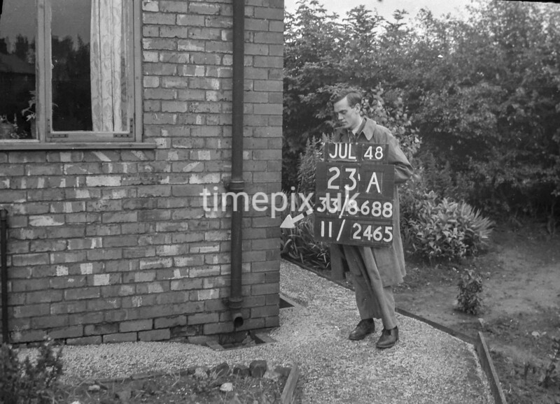 SJ868823A2, Ordnance Survey Revision Point photograph in Greater Manchester