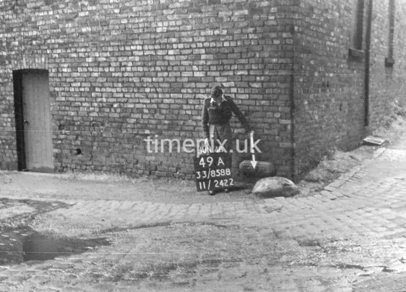 SJ858849A, Ordnance Survey Revision Point photograph in Greater Manchester
