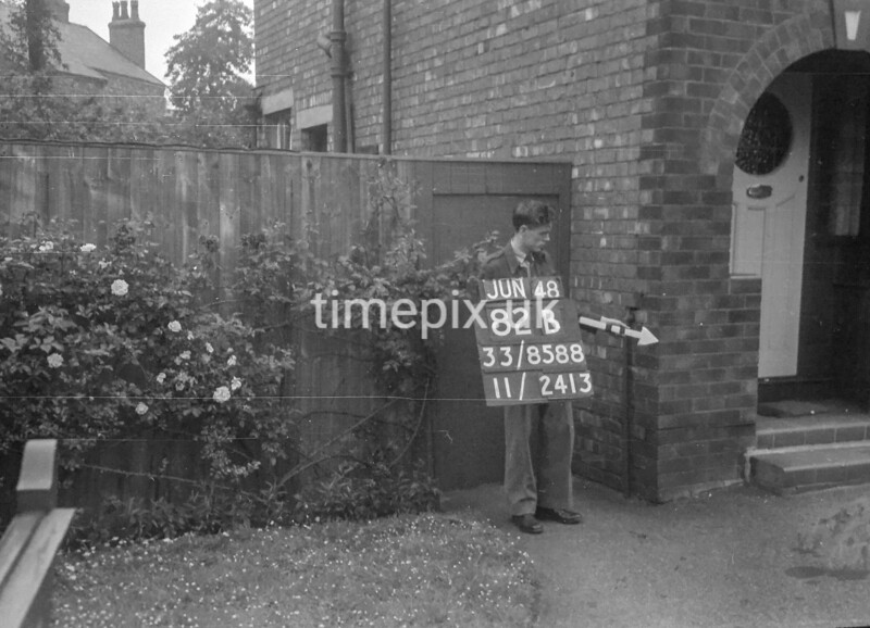 SJ858882B, Ordnance Survey Revision Point photograph in Greater Manchester