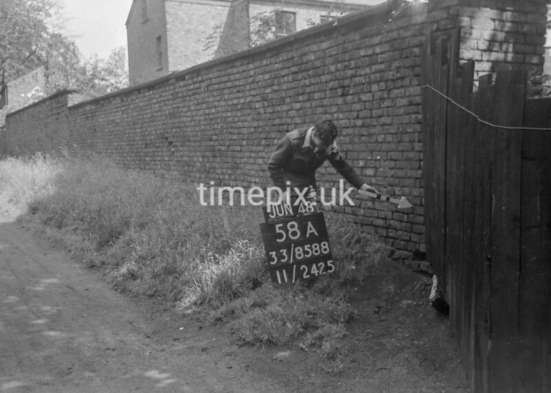 SJ858858A, Ordnance Survey Revision Point photograph in Greater Manchester