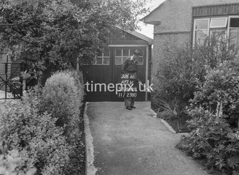 SJ868867K, Ordnance Survey Revision Point photograph in Greater Manchester