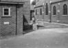 SJ908736B, Ordnance Survey Revision Point photograph in Greater Manchester