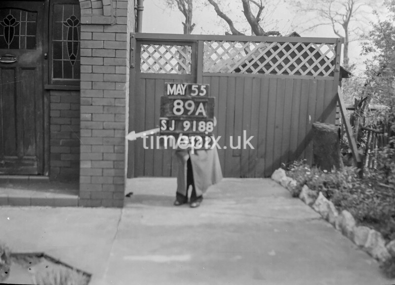 SJ918889A, Ordnance Survey Revision Point photograph in Greater Manchester