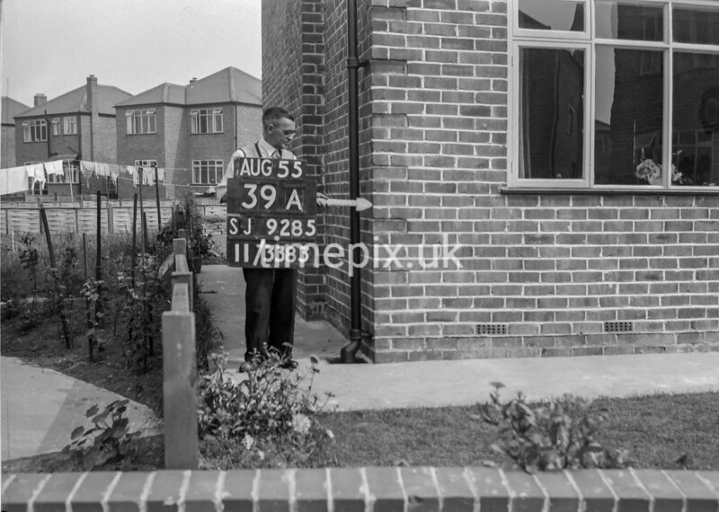 SJ928539A, Ordnance Survey Revision Point photograph in Greater Manchester