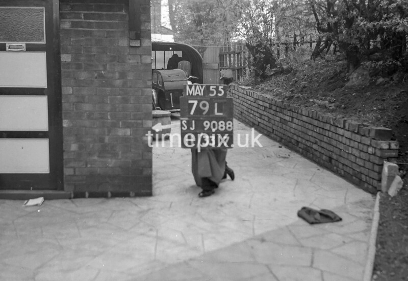 SJ908879L, Ordnance Survey Revision Point photograph in Greater Manchester