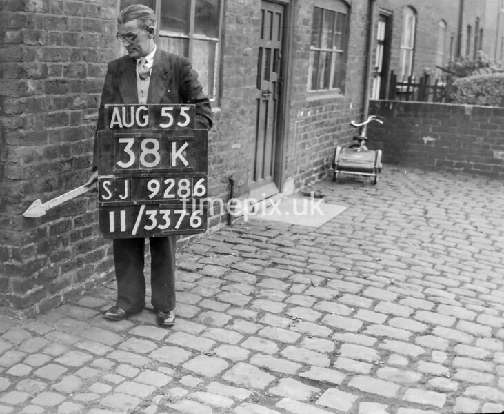 SJ928638K, Ordnance Survey Revision Point photograph in Greater Manchester