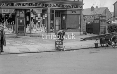 SJ908896B1, Ordnance Survey Revision Point photograph in Greater Manchester
