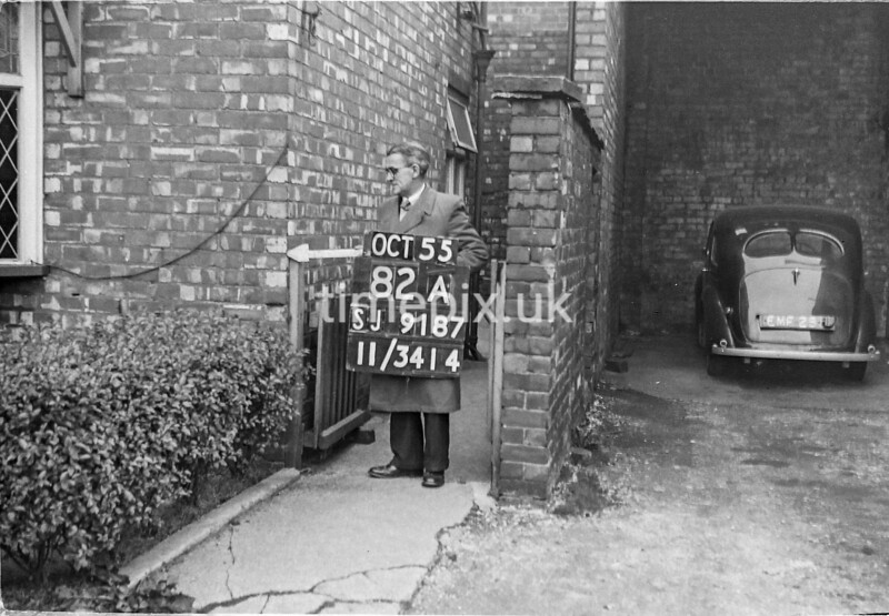 SJ918782A, Ordnance Survey Revision Point photograph in Greater Manchester