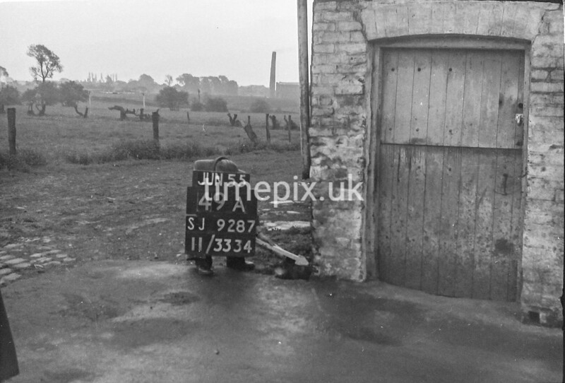SJ928749A, Ordnance Survey Revision Point photograph in Greater Manchester