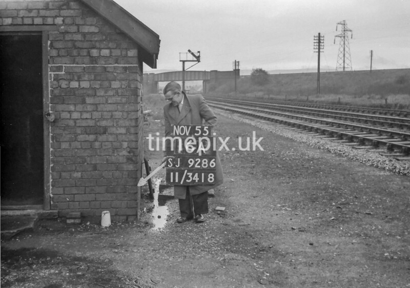 SJ928616A, Ordnance Survey Revision Point photograph in Greater Manchester