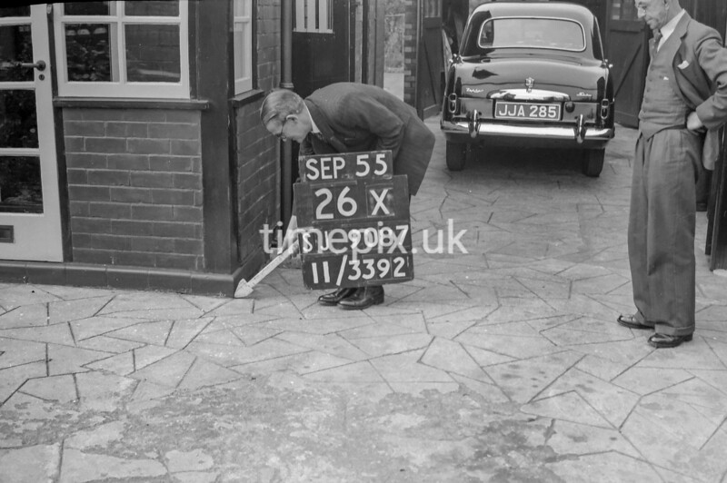 SJ908726X, Ordnance Survey Revision Point photograph in Greater Manchester