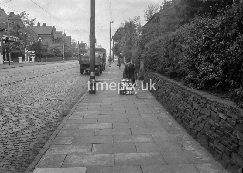 SJ908834A, Ordnance Survey Revision Point photograph in Greater Manchester