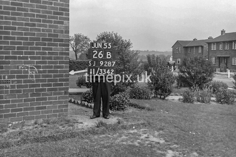 SJ928726B, Ordnance Survey Revision Point photograph in Greater Manchester