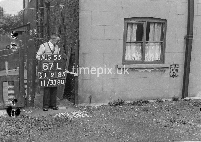 SJ918587L, Ordnance Survey Revision Point photograph in Greater Manchester