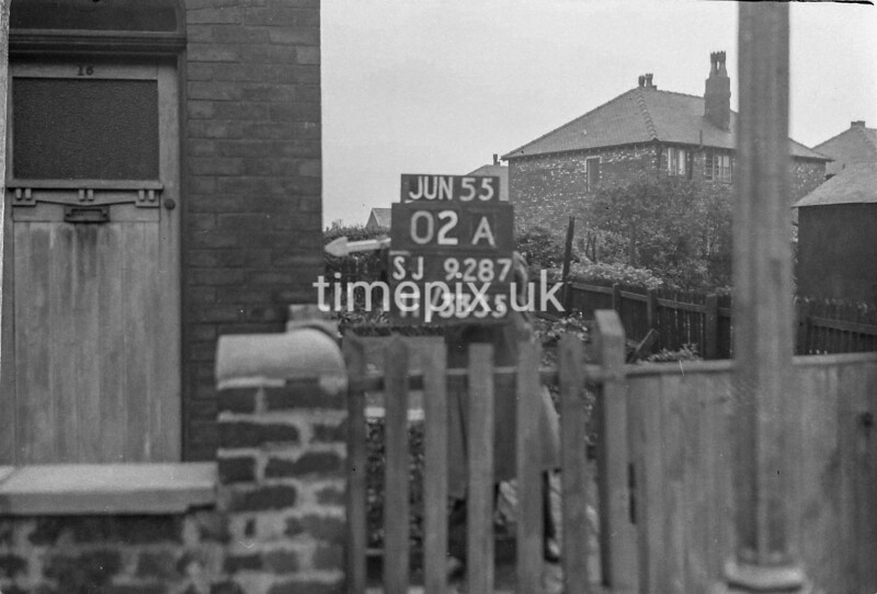 SJ928702A, Ordnance Survey Revision Point photograph in Greater Manchester