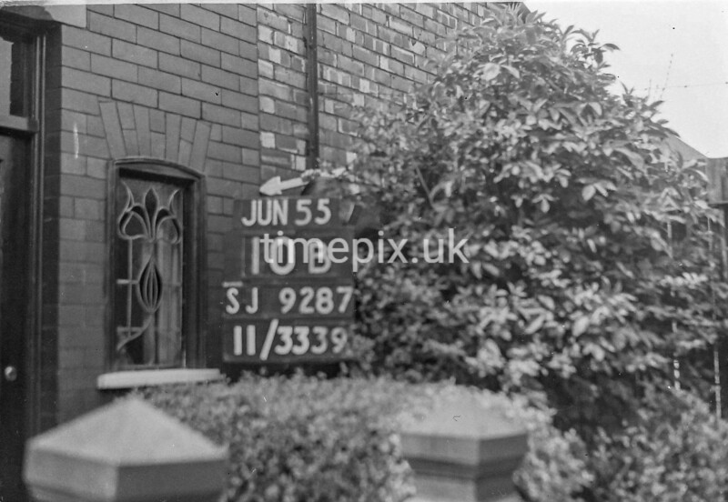 SJ928710B, Ordnance Survey Revision Point photograph in Greater Manchester
