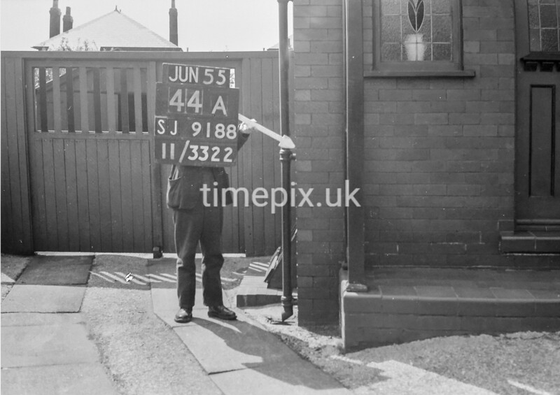 SJ918844A, Ordnance Survey Revision Point photograph in Greater Manchester
