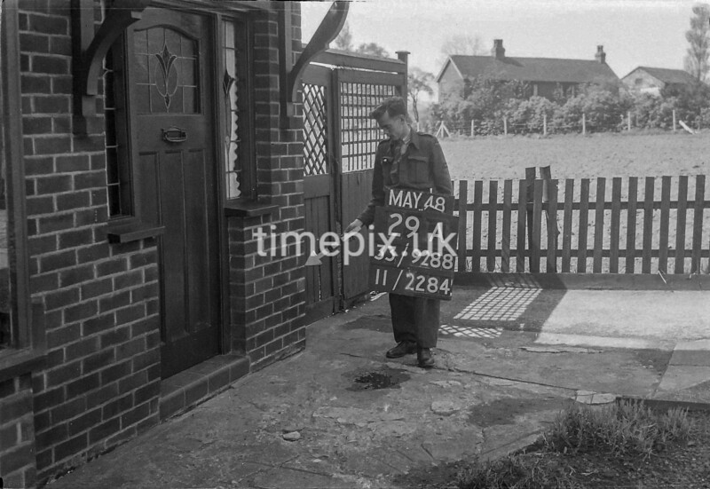 SJ928829A, Ordnance Survey Revision Point photograph in Greater Manchester