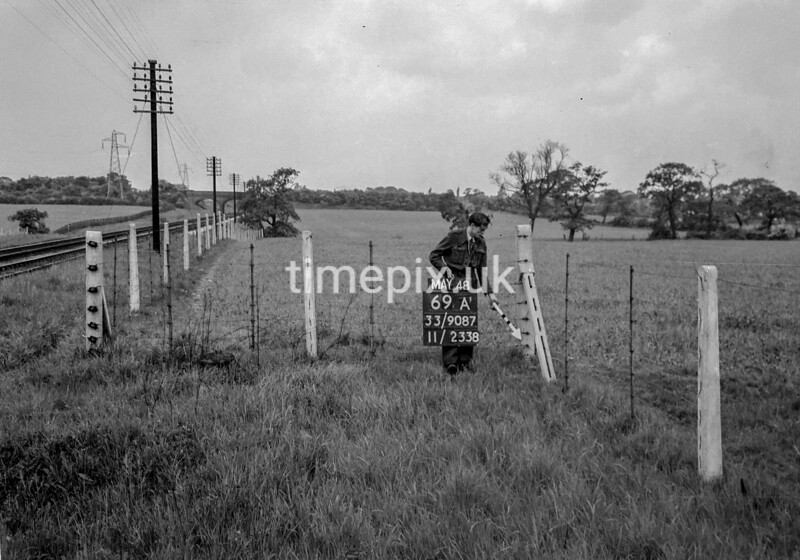 SJ908769A1, Ordnance Survey Revision Point photograph in Greater Manchester