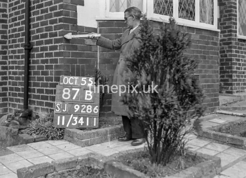 SJ928687B, Ordnance Survey Revision Point photograph in Greater Manchester