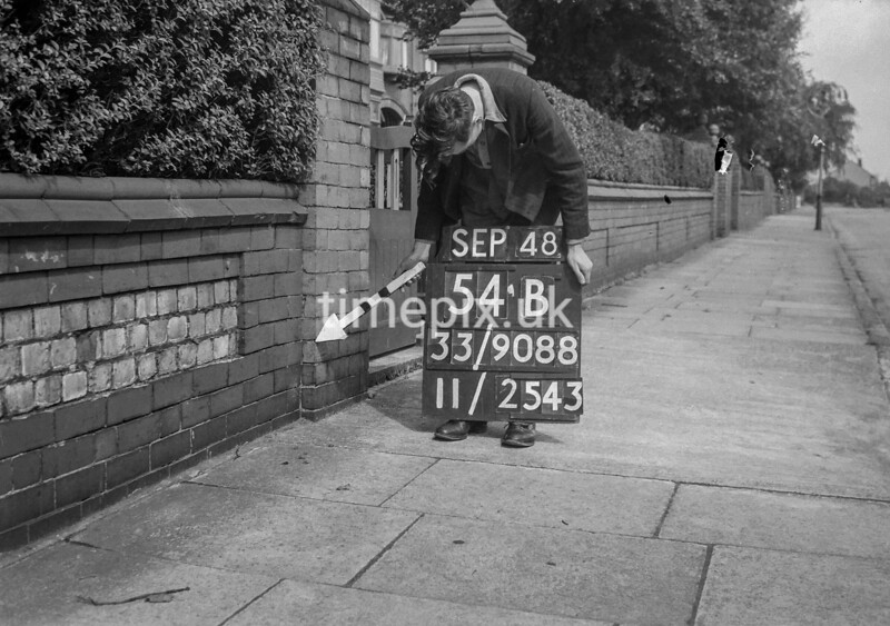 SJ908854B2, Ordnance Survey Revision Point photograph in Greater Manchester