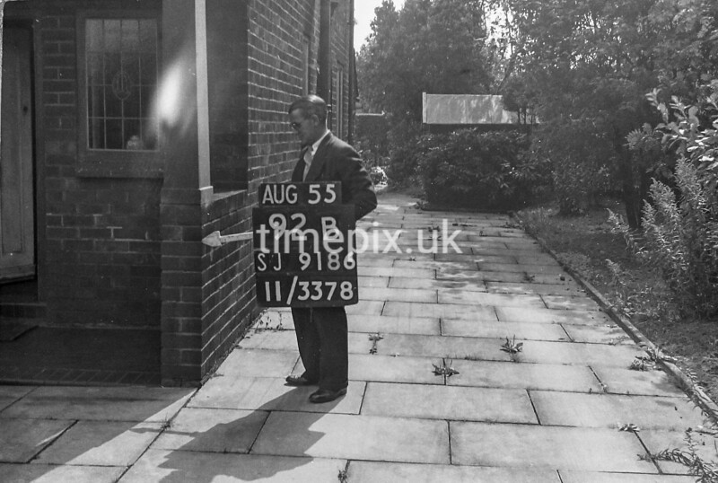 SJ918692B, Ordnance Survey Revision Point photograph in Greater Manchester