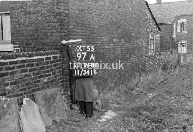 SJ918697A, Ordnance Survey Revision Point photograph in Greater Manchester