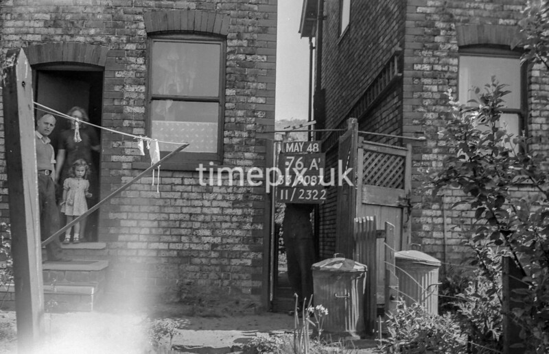 SJ908776A, Ordnance Survey Revision Point photograph in Greater Manchester